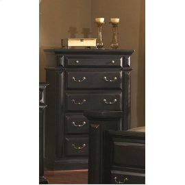 Chest - Antique Black Finish