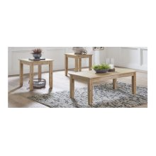 3PK of Tables (Cocktail Table & 2 End Tables)