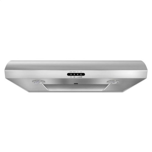 """30"""" Range Hood with the FIT System - stainless steel"""