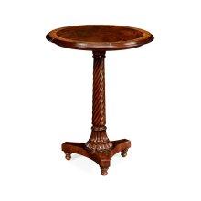 William IV Round Mahogany Lamp Table