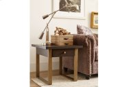 Austin by Rachael Ray Square End Table w/ Metal Accent Product Image