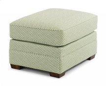 Whitney Fabric Ottoman without Nailhead Trim