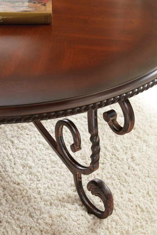 "Crowley End Table 26"" x 26"" x 24"""