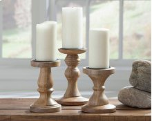 Timber and Tanning Candle Holder (Set of 3)