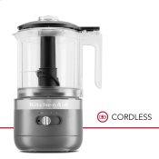 Cordless 5 Cup Food Chopper - Matte Charcoal Grey