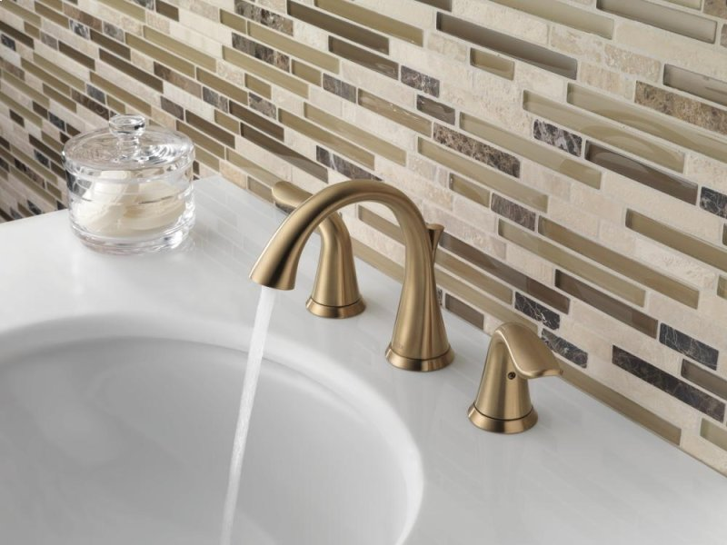 3538czmpudst In Champagne Bronze By Delta Faucet Company In Raleigh