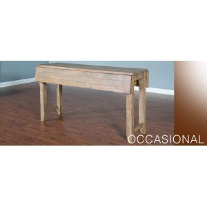 Driftwood Sofa Table W 2 9 Drop Leaves