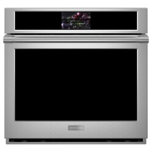"GE MonogramMonogram 30"" Smart Electric Convection Single Wall Oven Statement Collection"