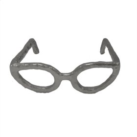 Silver Glasses Sculpture