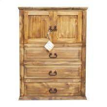 Brown Wb Econo 2dr 3drw Chest