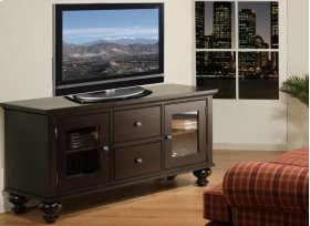 Georgetown 60'' HDTV Cabinet With 3 Sliding Doors