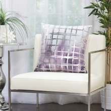 """Luminescence Qy267 Lavender 20"""" X 20"""" Throw Pillows"""