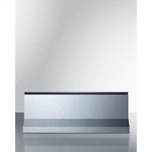 "Summit10"" High Backguard In Stainless Steel for Pro24g Gas Range"