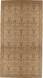 HARD TO FIND SIZES GRAND PARTERRE PT02 BEIGE RECTANGLE RUG 12' x 22'