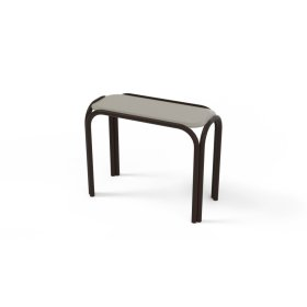 """Marine Grade Polymer Top Table 11"""" x 25"""" Chaise Table"""