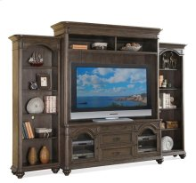 Belmeade Left Pier Old World Oak finish