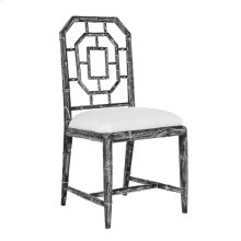 Georgica Side Chair, Black