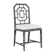 Georgica Side Chair, Black