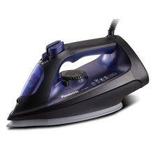 Steam/Dry Iron with Large, Curved Ceramic-Coated Soleplate and Stable Glide - NI-U600C