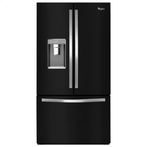 WHIRLPOOLWhirlpool(R) 36-inch Wide French Door Refrigerator with Infinity Slide Shelf - 32 cu. ft. - Black Ice