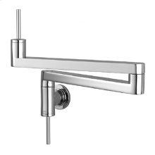 Contemporary Pot Filler Kitchen Faucet - Polished Chrome