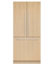 Integrated French Door Refrigerator 16.8cu ft, Ice