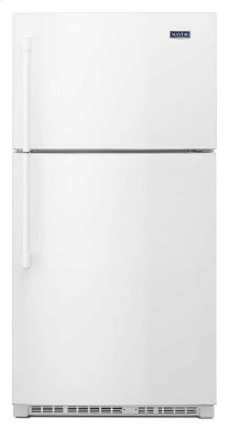 33-inch Wide Top Freezer Refrigerator With Evenair(tm) Cooling Tower- 21 Cu. Ft.
