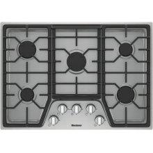 "30"" gas cooktop, 5 burner"