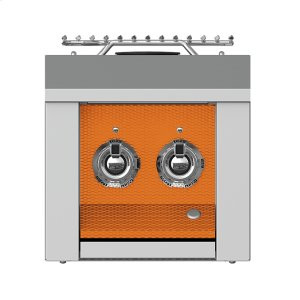 "Hestan12"" Aspire Double Side Burner - AEB Series - Citra"