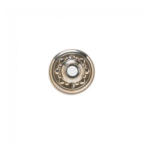 Bordeaux Doorbell Button White Bronze Medium