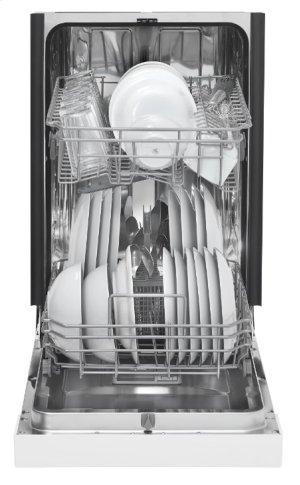 Danby 18 White Built-In Dishwasher