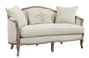 Emerald Home Salerno Settee W/2 Pillows & 1 Kidney Pillow Sand Gray/distressed U3693-01-09 (copy)