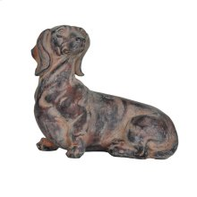 Relaxing Dachshund Statue