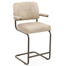 Breuer Counter Arm Chair (textured bronze)