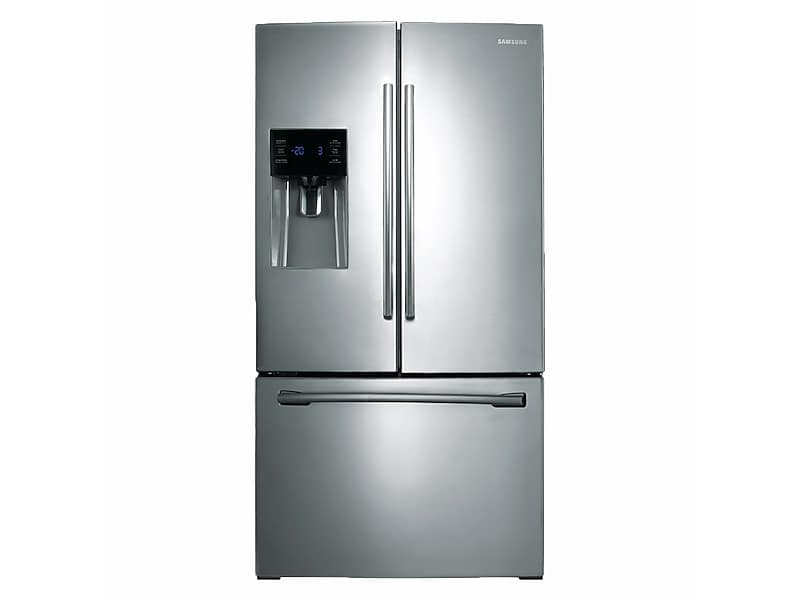 Samsung25 Cu. Ft. French Door Refrigerator With External Water & Ice Dispenser In Stainless Steel