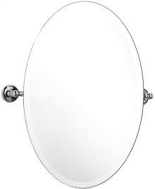 """Antique Gold Tilting mirror, 30"""" H x 20 1/16"""" W"""