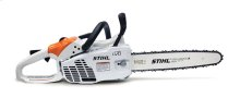 A compact chainsaw that offers professional-grade quality.