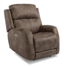 Zelda Fabric Power Recliner with Power Headrest