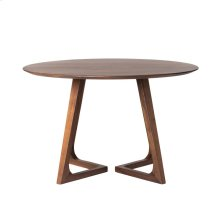 Godenza Dining Table Round Walnut