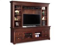 "Hudson Valley 84"" HDTV Cabinet With Hutch"