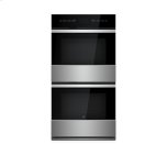 "NOIR 27"" Double Wall Oven with MultiMode(R) Convection System"