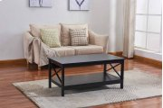 6601 Black Coffee Table Product Image