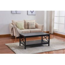 6601 Black Coffee Table
