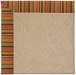 Creative Concepts-Cane Wicker Tuscan Stripe Adobe