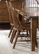 Bow Back Side Chair - Oak Product Image
