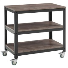 Vivify Tiered Serving Stand in Gray Walnut