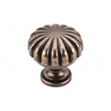Melon Knob 1 1/4 Inch - German Bronze