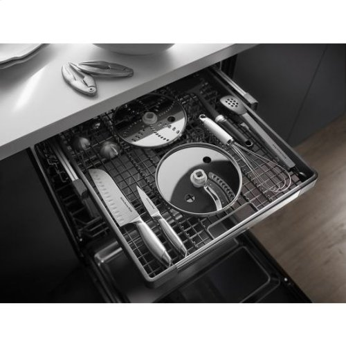 KitchenAid® 46 dBA Dishwasher with ProScrub™ Option - Panel Ready