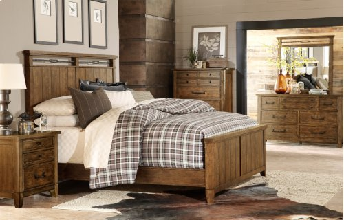 River Run Panel Bed -CA King