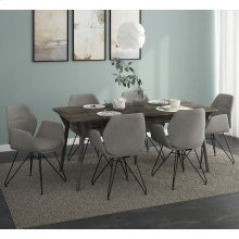 Mira/Zane 7pc Dining Set